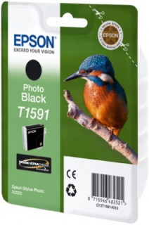 Epson fotó fekete tintpatron, T1591 PC