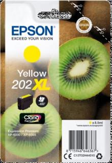 Singlepack Yellow 202XL Claria Premium Ink PC