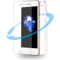 Azuri első és hátsó védő lap - átlátszó - Apple iPhone 7 Mobil