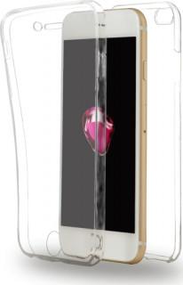 AZURI full szilikon tok-készülék elejére és hátuljára-átlátszó-iPhone 7 Plus Mobil