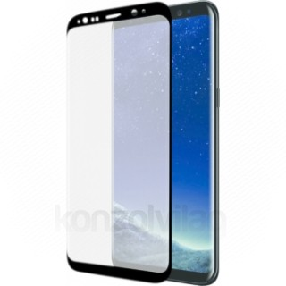 AZURI ívelt képernyővédő-edzett üveg- RINOX ARMOR -Samsung Galaxy S8 Plus Mobil