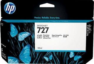 HP 727 fotófekete DesignJet tintapatron, 130 ml PC