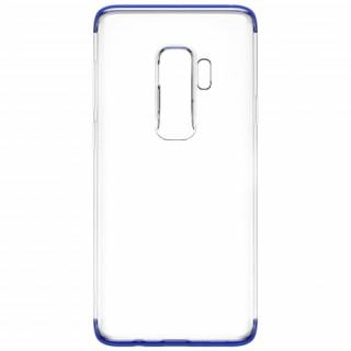 Baseus Armor szilikon hátlap, Galaxy S9+,Átlátszó/Kék Mobil