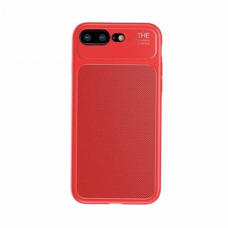 Baseus Khight szilikon hátlap, iPhone 7/8+, Piros Mobil