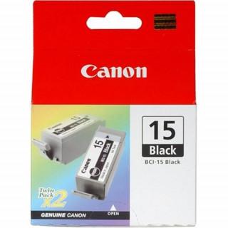 Canon BCI-15 fekete patron 2 darab PC