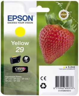 Epson tintapatron Singlepack Yellow 29 Claria Home Ink PC