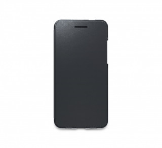 Vodafone Smart V8 book cover tok, Fekete Mobil