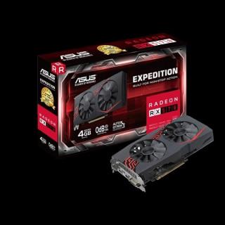 ASUS videokártya AMD EX-RX570-4G PC