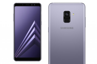 Samsung Galaxy A8-2018, Dual SIM, Lila Mobil