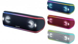 Sony SRS-XB41B Extra Bass hordozható vezetéknélküli hangszóró Több platform