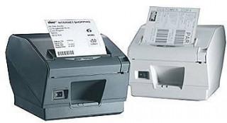 Star TSP800-II nyomtató, Bluetooth, vágó, fehér PC