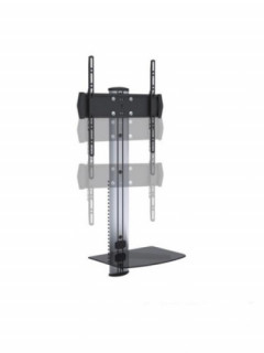 Rainbow Fali állítható magasságú konzol üvegpolccal, max. VESA 400x400 Több platform