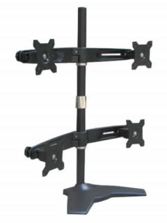 Rainbow asztali konzol 4 db LCD kijelzőhöz, VESA 75/100 Több platform