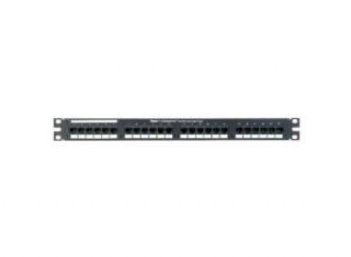 Panduit 50 portos 1U voice pp. (50*RJ45, Krone punchdw) PC