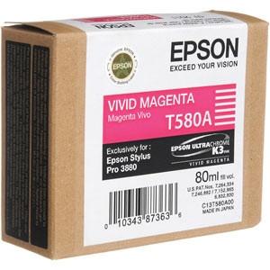 Epson Vivid bíbor tintapatron, T580A00 PC