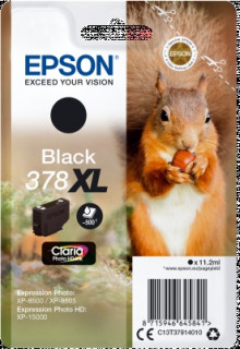 Singlepack Black 378XL Claria Photo HD Ink PC