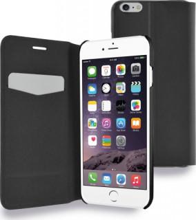 AZURI kinyitható tok ultra vékony -fekete-iPhone 6-6S 4.7col Mobil