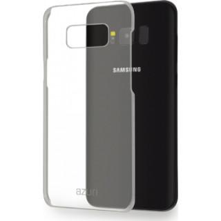 AZURI műanyag hátlap érdes tapintású-fekete-Samsung G950 Galaxy S8 Mobil