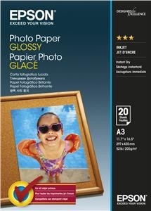 Epson Photo Paper Glossy A3 20 sheets PC