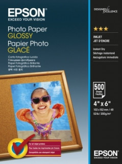 Epson Photo Paper Glossy 10x15cm 500 sheet PC