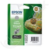 Epson világosfekete tintapatron, 1 darab, T0347, Ultra Chrome PC