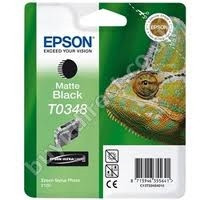 Epson mattfekete tintapatron, 1 darab, T0348, Ultra Chrome PC