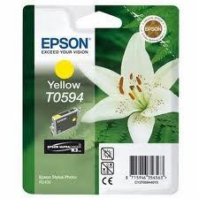 Epson sárga tintapatron, 1 darab, T0594, UltraChrome PC