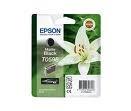 Epson mattfekete tintapatron, 1 darab, T0598, Ultra Chrome PC