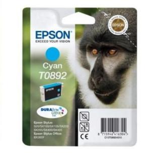Epson cián tintapatron, 1 darab, T0892, DURABrite Ultra tinta PC