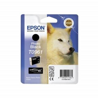 Epson fotó fekete tintapatron, 1 darab, T096140 PC
