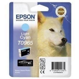Epson világoscián tintapatron, 1 darab, T096540 PC