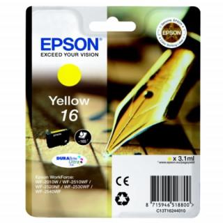 Epson sárga tintapatron, 1 darab, 16, DURABrite Ultra tinta PC