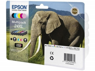 Multipack 6-colours 24XL Claria Photo HD Ink PC