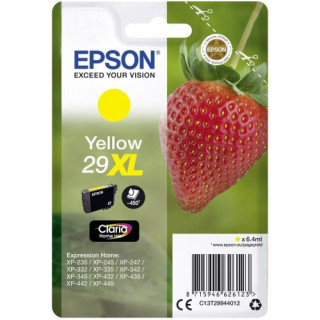 Epson tintapatron Singlepack Yellow 29XL Claria Home Ink PC