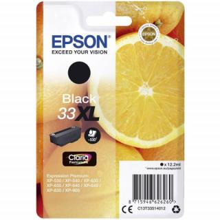 Epson tintapatron Singlepack Black 33XL Claria Premium Ink PC