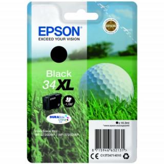 Epson tintapatron Singlepack Black 34XL DURABrite Ultra Ink PC