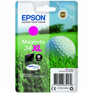 Epson tintapatron Singlepack Magenta 34XL DURABrite Ultra Ink PC