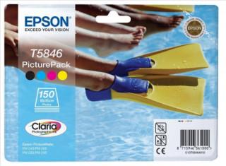 Epson tintapatron + fotópapír csomag, T5864 PC