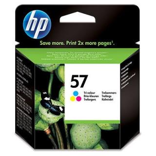 HP 57 háromszínű eredeti tintapatron PC