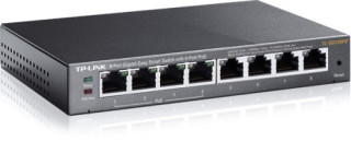 TP-LINK TL-SG108PE 8-Port Gigabit Easy Smart Switch with 4-Port PoE PC