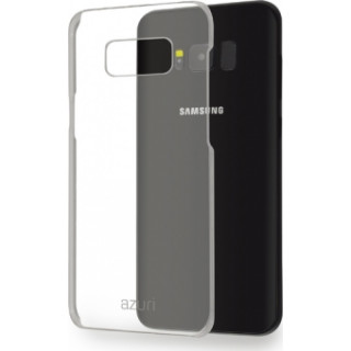 AZURI műanyag hátlap -átlátszó-Samsung G950 Galaxy S8 Mobil