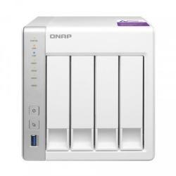 Qnap 4-Bay TurboNAS, ARM Cortex-A15 dual-core 1.7Ghz, 1GB RAM,  SATA 6Gb/s, 2x G PC