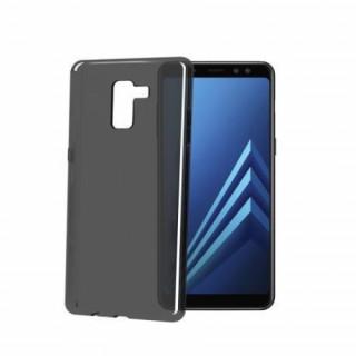 Celly Galaxy A8 (A530) szilikon hátlap, Fekete Mobil