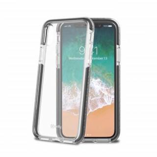 Celly iPhone X műanyag hátlap, Fekete Mobil