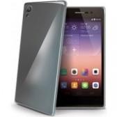 Celly Huawei P8 Lite szilikon hátlap, fekete Mobil