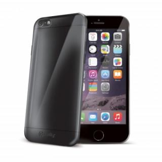 Celly iPhone 6-6S Plus szilikon hátlap, fekte Mobil