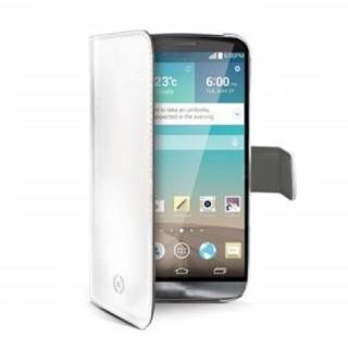 Celly LG K7 2017 book cover tok, Fehér Mobil