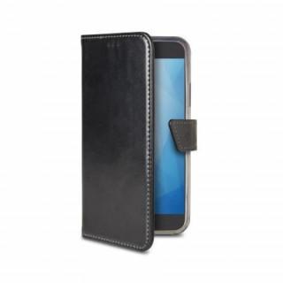 Celly Huawei Y5 (2018) oldalra nyiló tok, Fekete Mobil