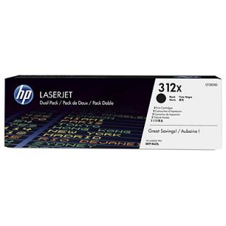 HP LaserJet 312X 2 darabos nagy kapacitású fekete tonerkazetta PC