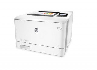 HP Color LaserJet Pro M452dn színes A4 lézer nyomtató, A4, duplex, LAN, 3 év pro PC
